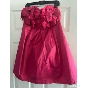 Anthropologie ruffle top mini dress Size M
